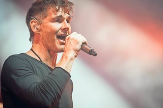 Fotos: Norwegisches Trio A-ha in Freiburg