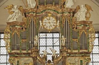 Die Internationalen Orgelkonzerte in der Barockkirche in St. Peter