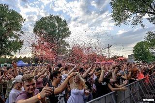 Tension Festival Base für elektronische Musik l mit zwei Openairfloors und internationalem Line up