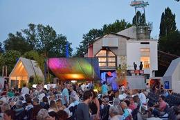 Fotos: Kieswerk Openair im Weiler Dreiländergarten