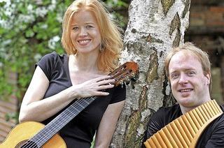Matthias Schlubeck und Eva Benecke in Hinterzarten
