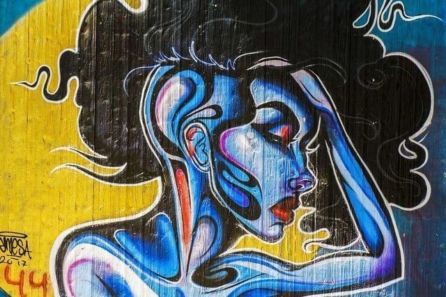 Das Dreiländereck ist eine Hochburg der Street Art