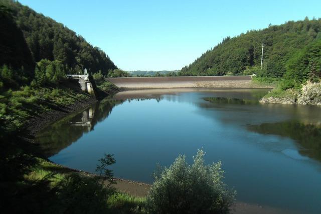 Staudamm Wehrabecken