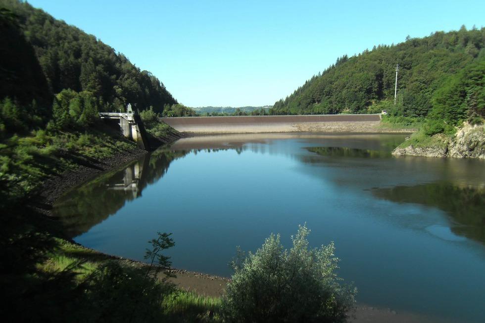 Staudamm Wehrabecken - Wehr