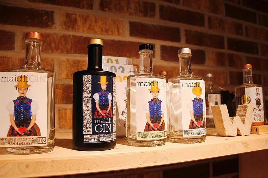 Wuchners Gin Destille (Maidli Gin) - Heuweiler