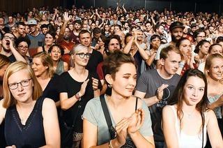 Stimmen-Festival in Lörrach verzeichnet weniger Besucher als vergangenes Jahr