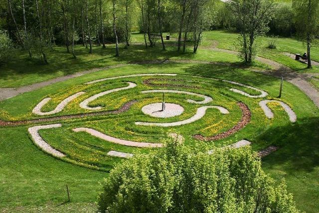 Barfuß-Labyrinth (hinter der Helios-Klinik)