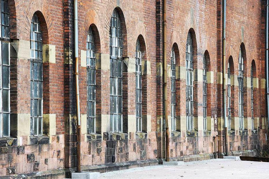 Historische Lokhalle am Güterbahnhof - Freiburg