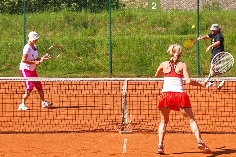 Tennisplatz - Grafenhausen