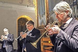 Trompetenensemble Stuttgart in Sulzburg