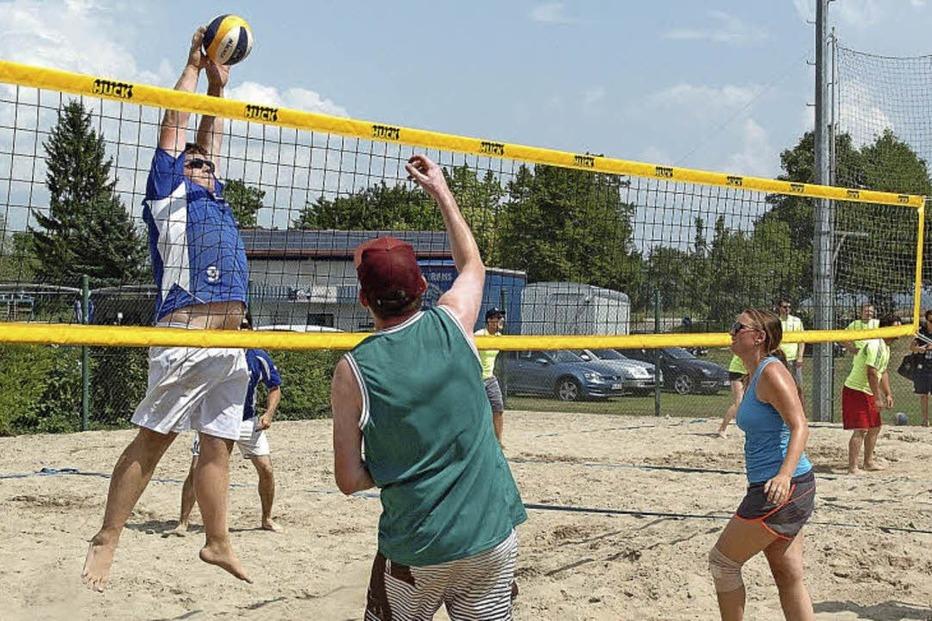 Beach-Volleyball-Anlage RSV Oberhausen - Rheinhausen
