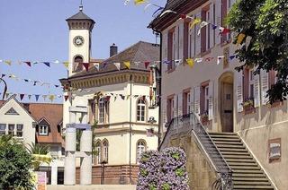 Gebäiude, Plätze und Straßen in Müllheim