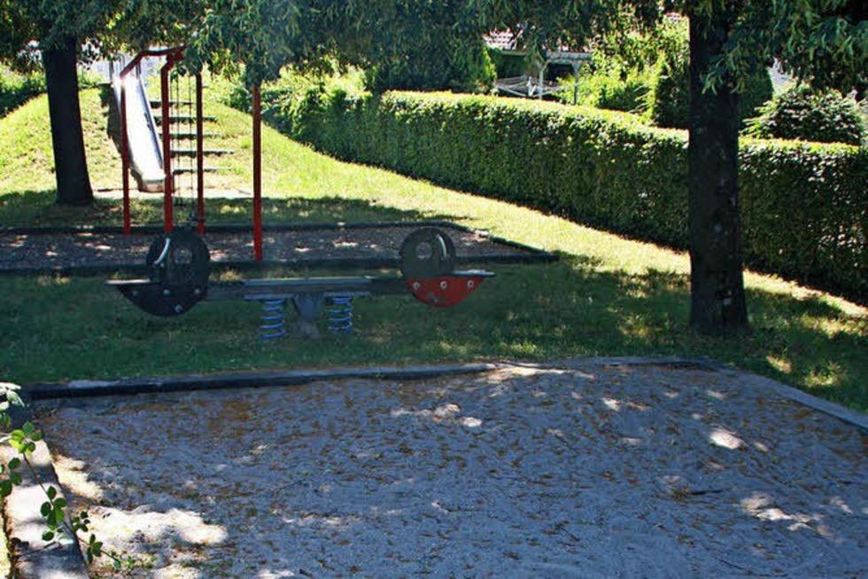 Spielplatz Lindenstraße (Wallbach) - Bad Säckingen