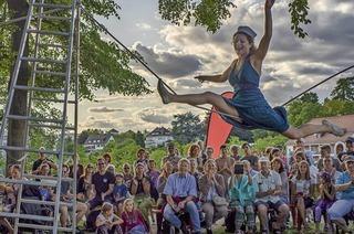 Festival Brückensensationen rund um die Alte Rheinbrücke in Rheinfelden