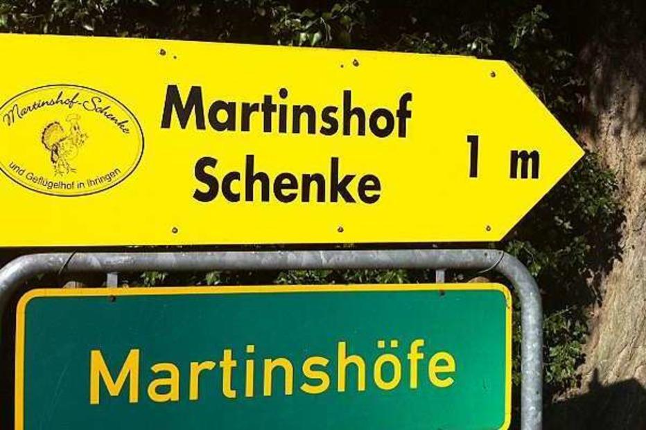 Martinshof-Schenke - Ihringen
