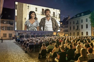 Allianz Cinema 2018 auf dem Münsterplatz Basel