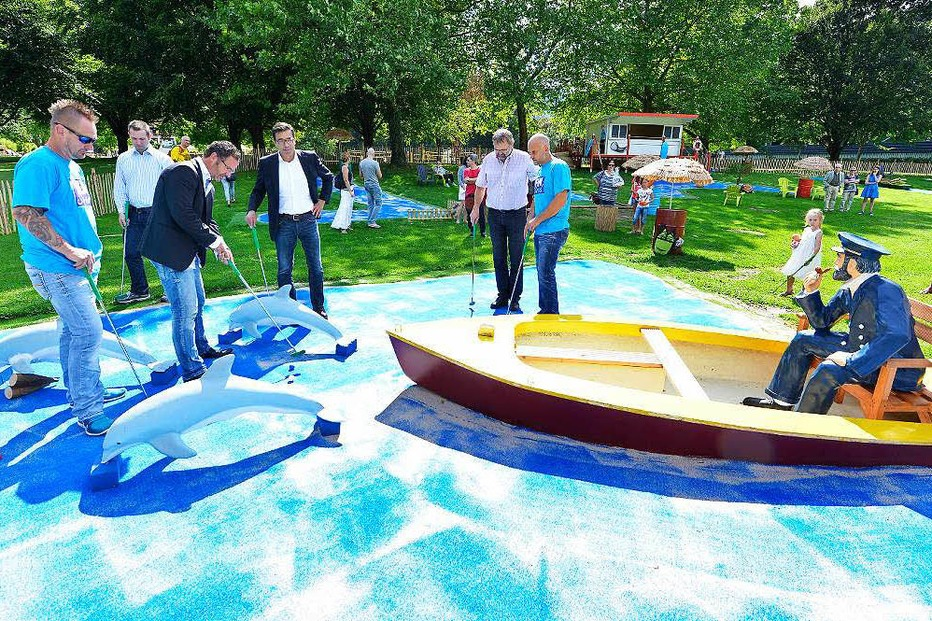 Fun Strand Minigolf - Freiburg