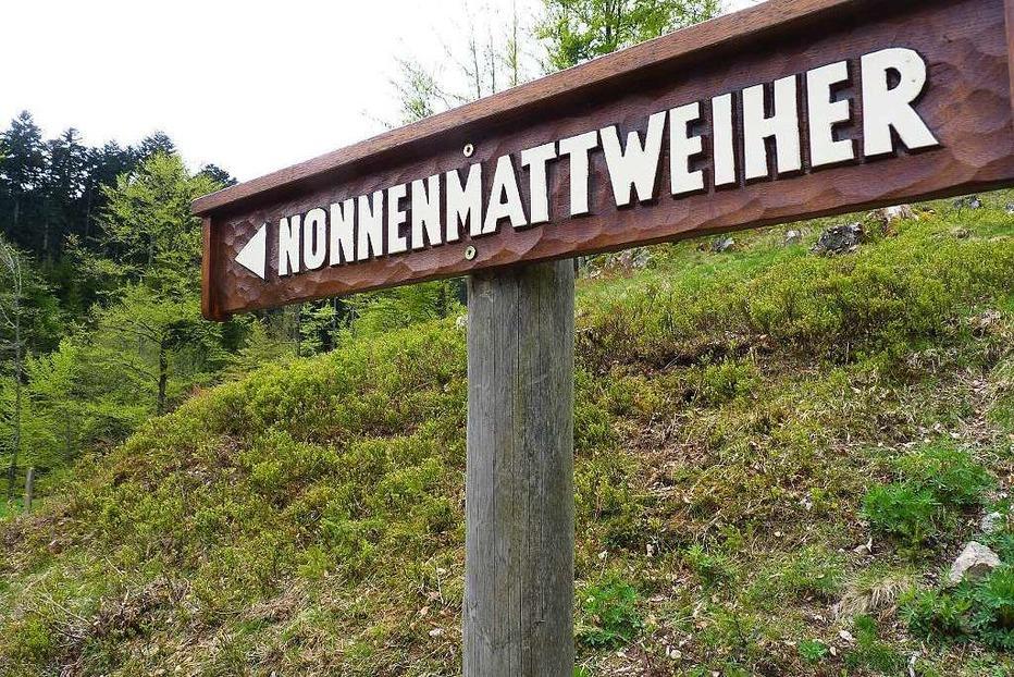 Nonnenmattweiher Neuenweg - Kleines Wiesental