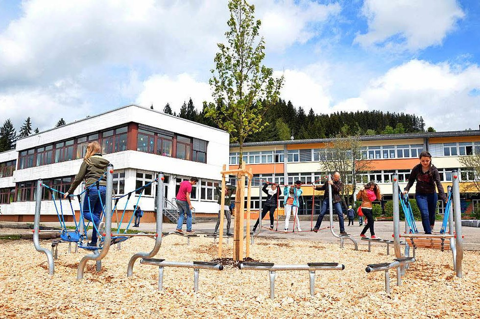 Spielplatz Hebelschule (Neustadt) - Titisee-Neustadt