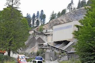 Schotterwerk Steinbruch Bernau Wacht