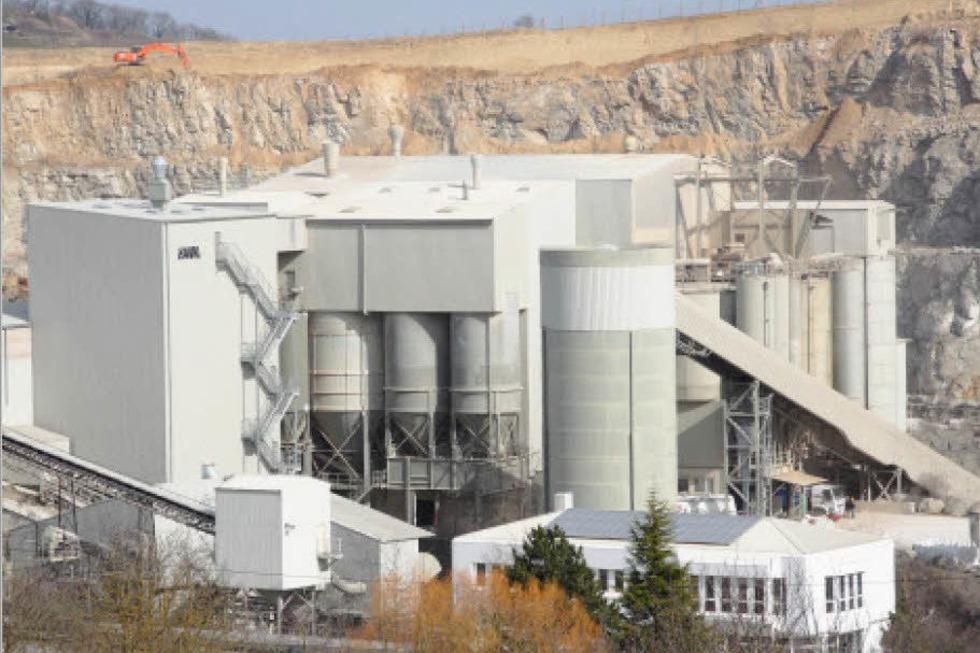 Steinbruch Mineralstoffwerke Hauri - Bötzingen