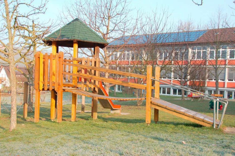 Spielplatz beim Rathaus - Pfaffenweiler
