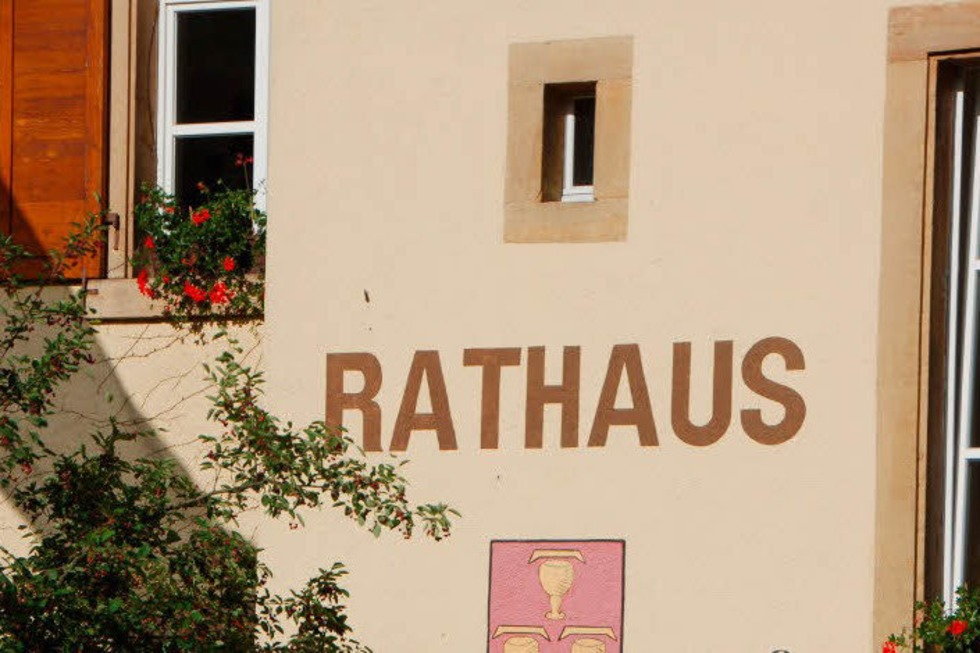 Rathaus - Pfaffenweiler