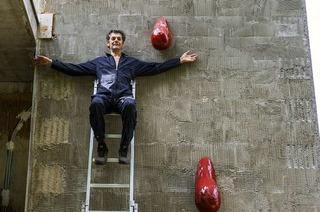 Wie sich ein Künstler seine Utopie im Gewerbepark selbst baut