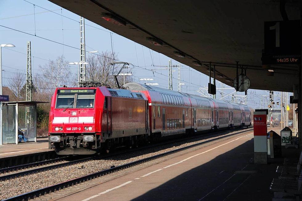 Bahnhof - Müllheim