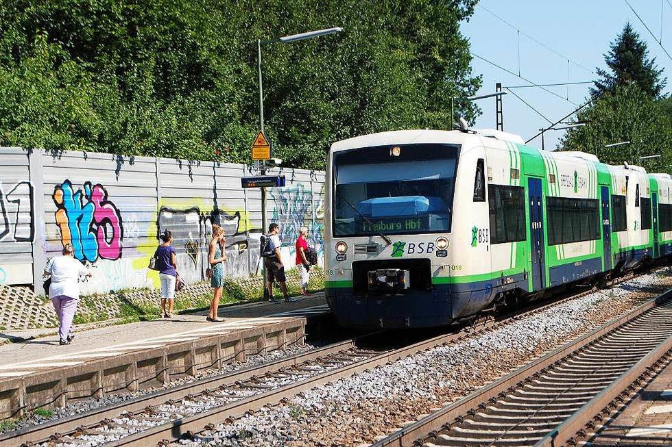 Bahnhof - Gundelfingen