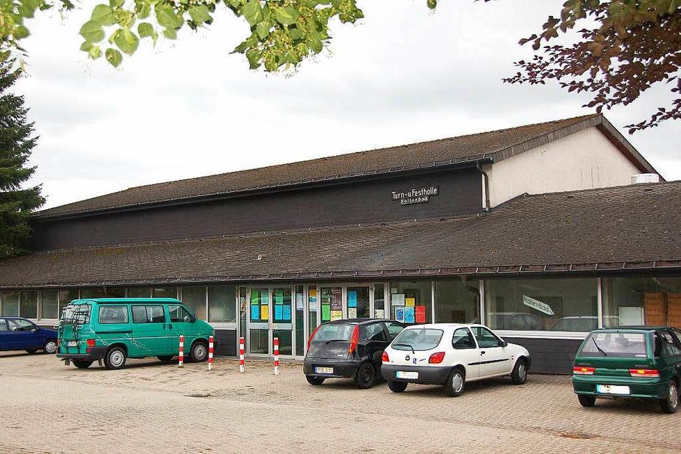Parkplatz Turn- und Festhalle - Sankt Peter