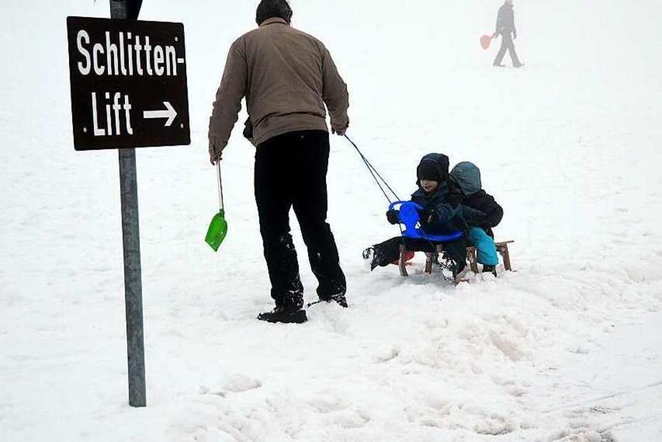 Schlittenhang (Hofsgrund) - Oberried