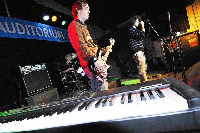 Auditorium der Jazz & Rock Schulen