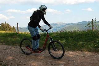 Roller-Downhill-Strecke (Schauinsland)