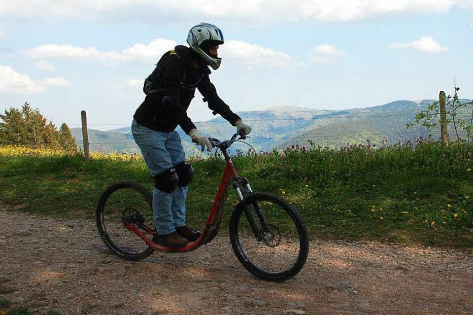 Roller-Downhill-Strecke (Schauinsland) - Freiburg