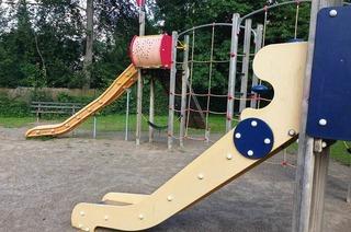 Spielplatz im Park der Sinne