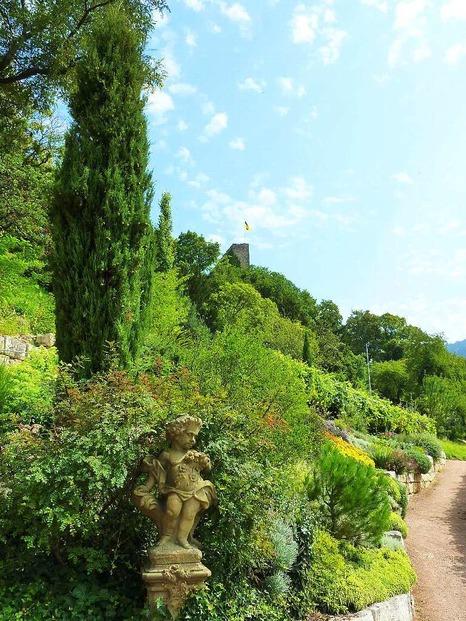 Kräutergarten Hildegard von Bingen - Badenweiler
