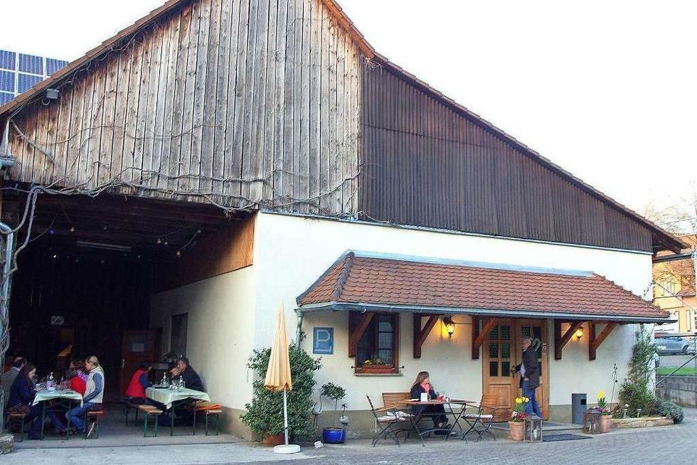 Fünfgeldstraußi (geschlossen) - Heitersheim