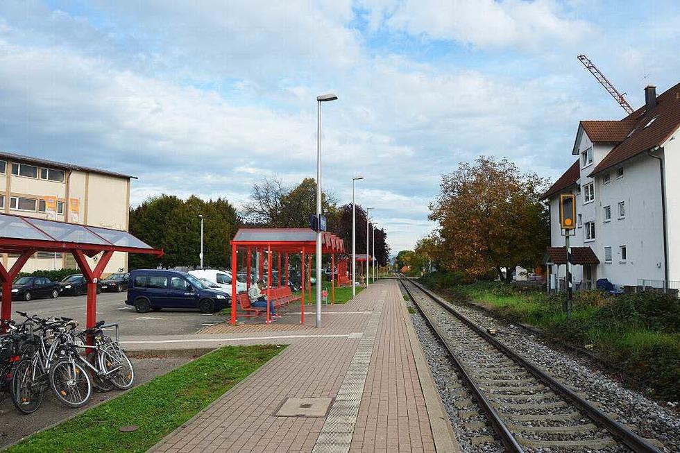 Bahnhof - Ihringen