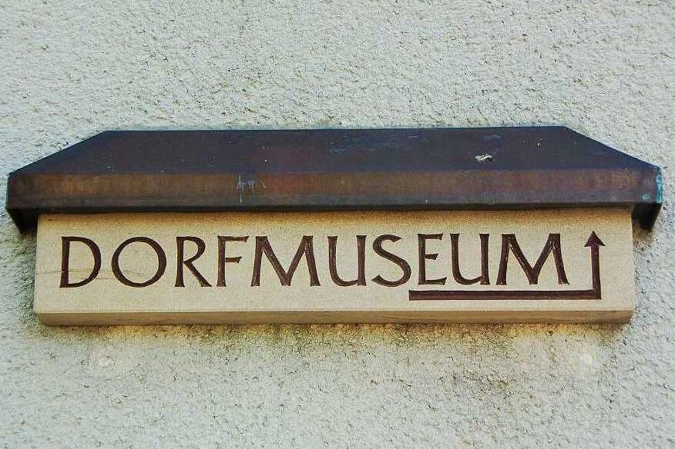 Dorfmuseum - Pfaffenweiler