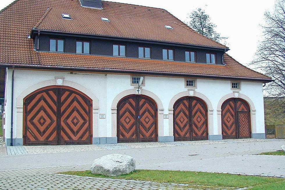 Feuerwehrgerätehaus (Rötenbach) - Friedenweiler