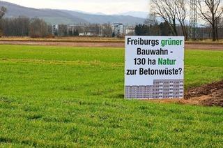 Aktionsbündnis will Bürgerentscheid zu Dietenbach durchsetzen