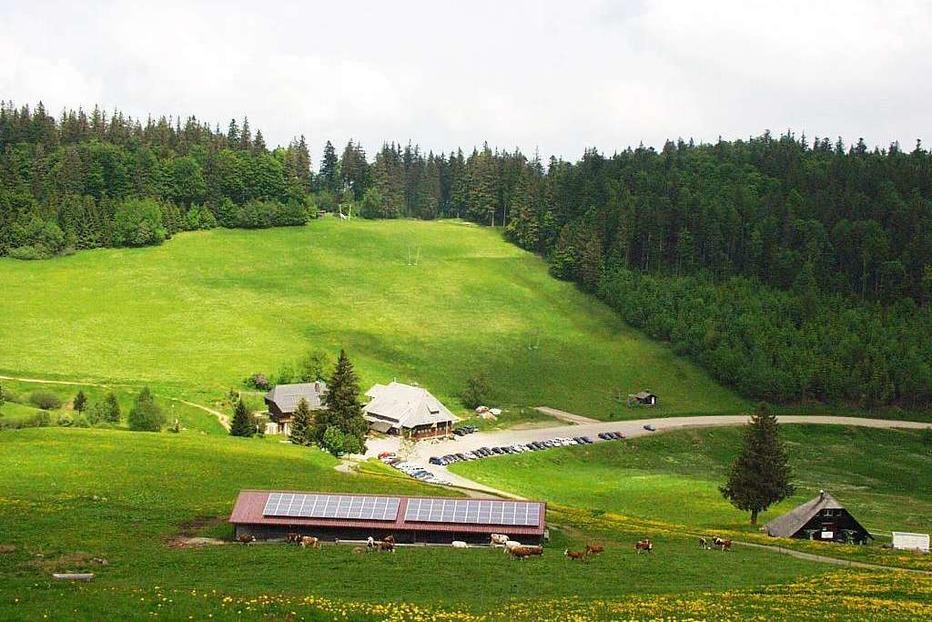 Berggasthaus Stollenbacher Hütte (Zastler) - Oberried
