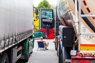 5 Tage pro Woche im 40-Tonner: Dieser Trucker liebt seinen Job