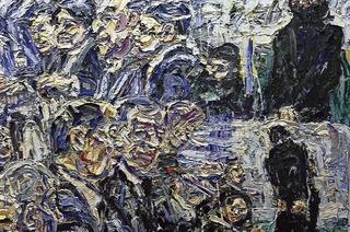 Harald Kille zeigt beim Kunstverein Offenburg seine aufwühlende und aufgewühlte politische Malerei