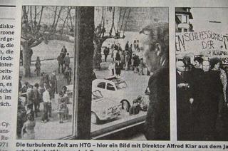 Aufruhr an den Gymnasien – das ist im Jahr 1968 in Lörrach passiert