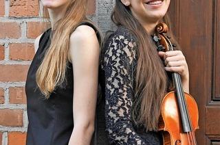 Zwei Nachwuchsmusikerinnen