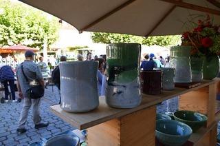 Weinstadtführung, Töpfermarkt und Erntefest