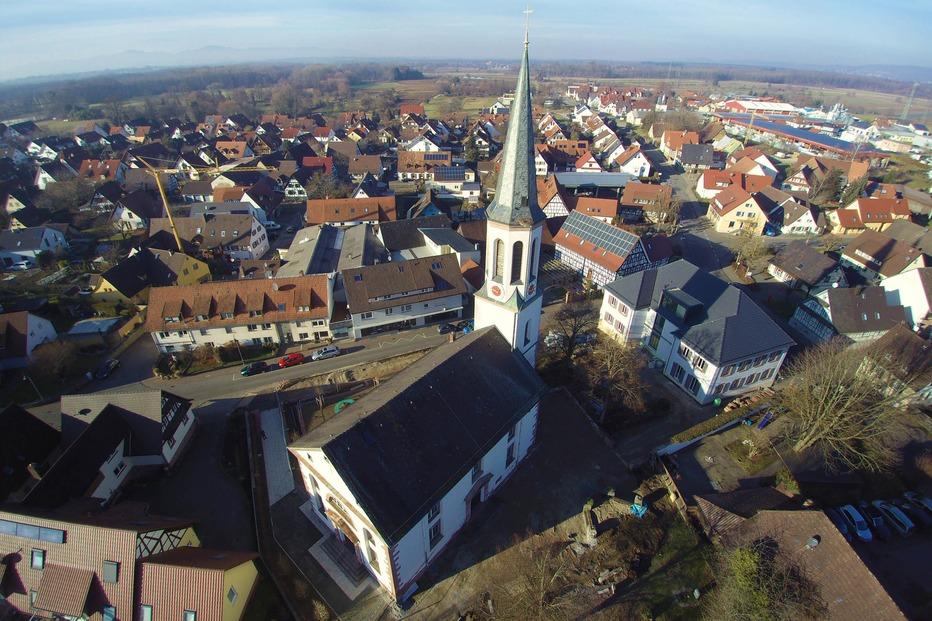 Evangelische Kirche - Vörstetten