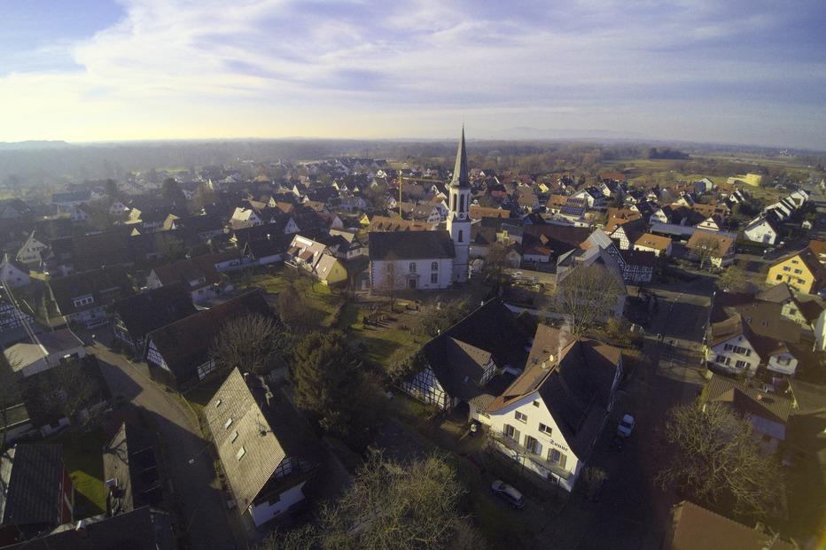 Ortszentrum - Vörstetten